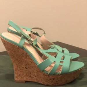 BCBG wedges perfect for a summer patio party!